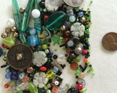 Various beads and charms H6