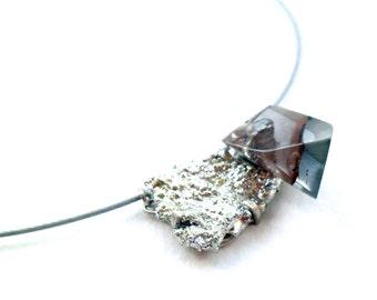 Material-Landscape Jewel with Tinscruff, Choker.