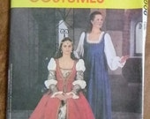 McCall's Renaissance Costumes Pattern #2806 Uncut