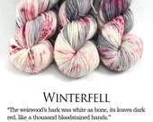 Game of Thrones Yarn - Speckle Yarn -First Class MCN - Winterfell