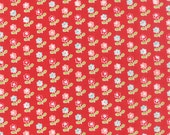 In Stock! - Vintage Picnic (55121 11) Rosie Red by Bonnie & Camille - cut options available