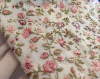 1:12 scale miniature textile quilt  embroidery Katie Arthur