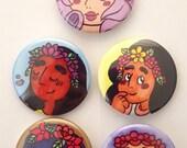 Space Gemstones Pin Set (1 of 2)