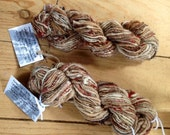 Love of the Highlands - bulky corespun artyarn - 75/92 yds -   lambswool, alpaca, soysilk, mohair & angora rabbit