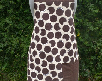 Chocolate Sandwich Cookie Apron
