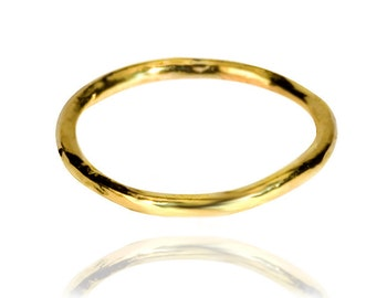 Golden Halo Ring in 22k solid gold