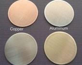 Add-on Disc - Copper Aluminum Nickel Brass Disc - K75