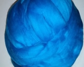 Merino Top Wool Roving Peacock 2oz