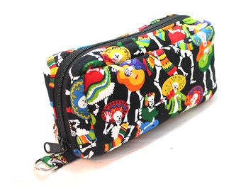 Essential Oil Case Holds 10 Bottles Essential Oil Bag Day of the Dead Mariachi