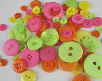 Tutti Fruity Brights Mix Buttons 50g 2oz