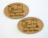 Vintage Shasta Personalized Magnets, Retro Trailer Magnets, Glamper Magnets, Glamping Gear, Caravan, Canned Ham, Vintage Camper, Camp, Cabin