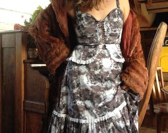 floral dress vintage dress summer dress