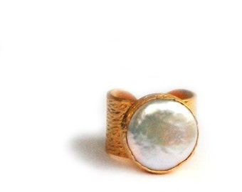 15% Discount Big Pearl Ring