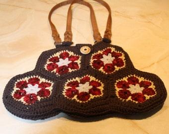 Hexagon Crocheted Fashion Purse