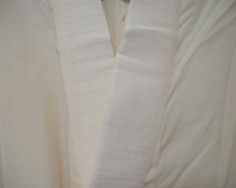 Vintage juban S180, off white, silk