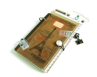 Vintage Inspired Travel Journal