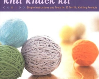 Knit Knack Kit - for 25 knitted projects