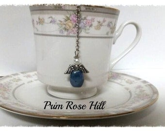Blue Guardian ANGEL tea ball infuser