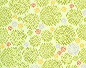 Clearance 1/2 yard Clothworks Organic Fabric OOP Picnic Pals by Alyssa Thomas of penguin& fish 2204 children
