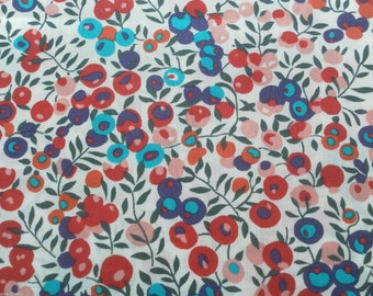 Liberty tana lawn fabric Wiltshire Berry  Fat Quarter fq Liberty Tissu