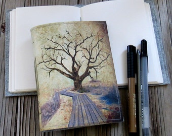 journey tree journal - a travel journey journal by tremundo