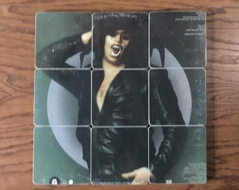 The STEVE MILLER BAND recycled The Joker record album cover coasters & record bowl