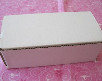 5 Shipping Boxes, Shipping Box, Mailing Boxes, White Shipping Box, Shipping Supplies, Sturdy Shipping Box, Mail Box 6x3x2