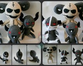 Custom Order for luigifan00001 - 4 felt plush from The Binding of Isaac