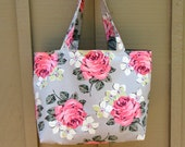 Tote Bag Purse Handbag Cath Kidson Canvas Floral
