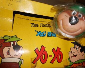 Vintage Yo-Yo > YOGI BEAR Face- 1970 era- never used