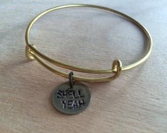 SHELL YEAH Bangle Bracelet