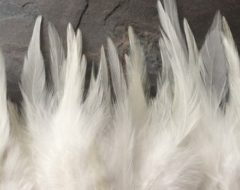 FIESTA SADDLE  / Off White w Eggshell tips  / FS - 30