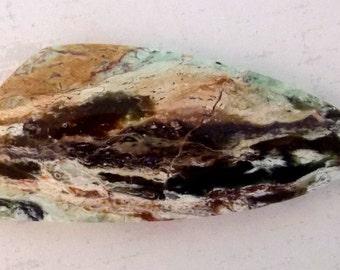 Opalized Serpentine Freeform Cabochon - On Sale