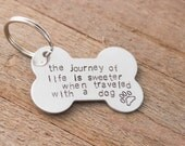 Stamped Keychain - Lifes Journey