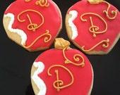 Descendants Party Apple Cookies