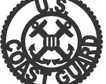 Coast Guard Emblem Applique