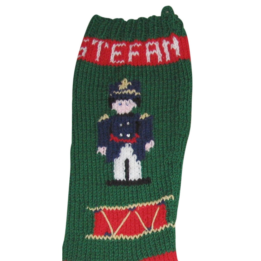 Knitting Patterns Toy Soldiers : Toy Soldier, Stocking, Christmas Stocking, Christmas ...