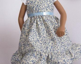 Spring Flowered Dress For Sasha