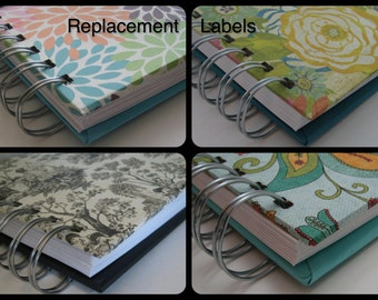 Address Replacement Labels/Extra Address Labels/ Address Book/ Guest Books/ Greeting Card Organizers