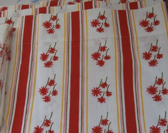VINTAGE MUSLIN SHEET and 2 Pillowcases 1975 made in Usa