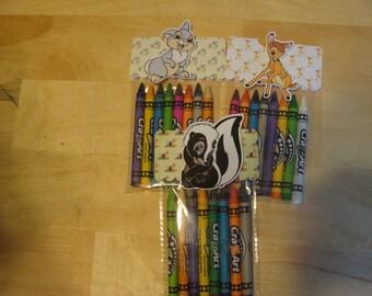 Bambi Made To Order Crayon Favor Bags