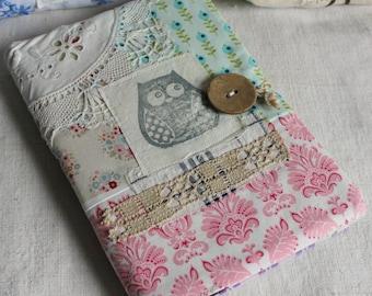 Diary  agenda 2016 hand stamped owl