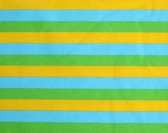 1 Yard Knit 3 Color Ocean Stripes