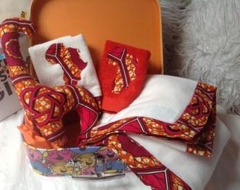 Little Miss Sunshine Gift baby girl shower baptism naming ceremony African case large princess box