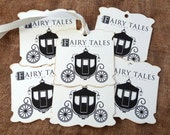 Fairy Tales Do Come True Wedding Favor or Wish Tree Tags #221