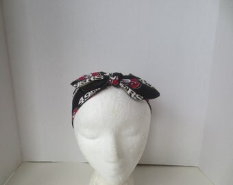 San Francisco 49ers - Headband - Adult headbands - San Francisco Forty Niners