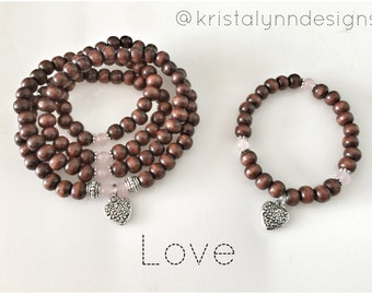 DIY - Make Your Own Mala Beads Kit - LOVE