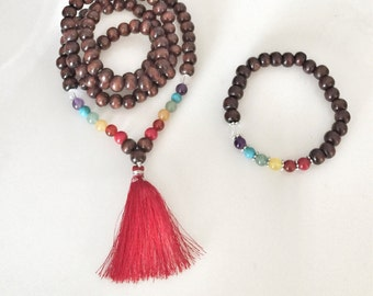 DIY - Make Your Own Mala Beads Kit - CHAKRA BALANCE