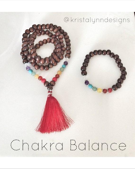 Diy Make Your Own Mala Beads Kit Chakra By Kristalynndesigns