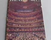 Theatre Arts Magazine January 1958 Special Opera Issue Theatrical Music History